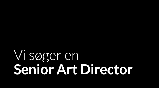 Shark & Co. søger en Senior Art Director