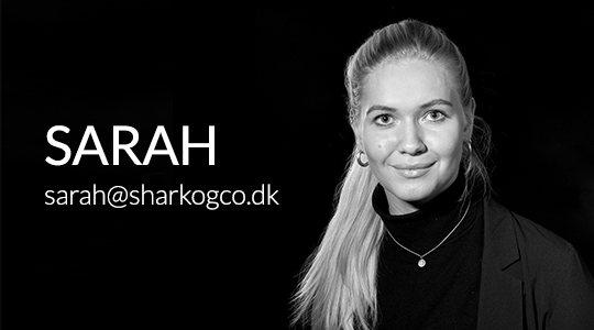 Sarah Nathalie Pedersen, Online Marketing Manager