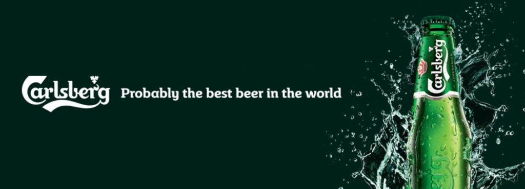 Carlsberg payoff / tagline / slogan