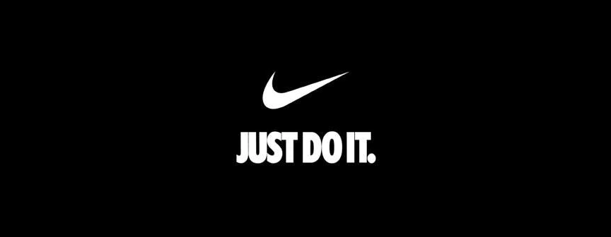 Nike payoff - just do it. - Shark & Co.