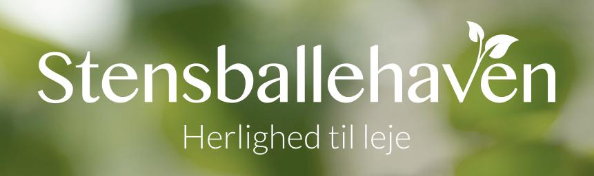 Stensballehaven payoff og logo - Shark & Co. reference