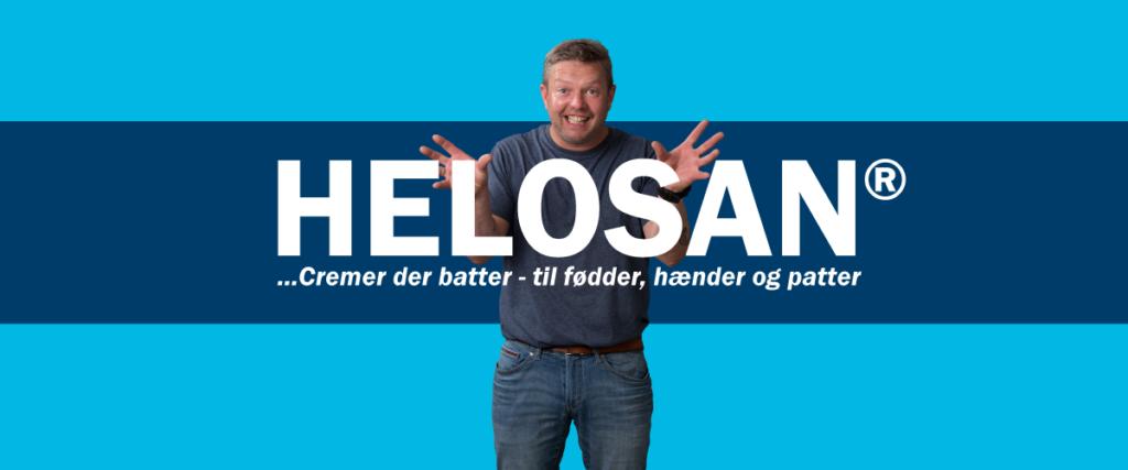 Helosan - Cremer der batter til fødder, hænder og patter | Tagline artikel | Shark & Co.