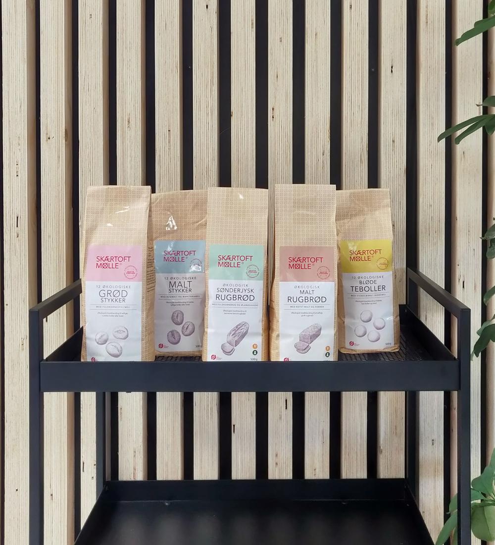Skærtoft Mølle | Nye emballager til produkterne