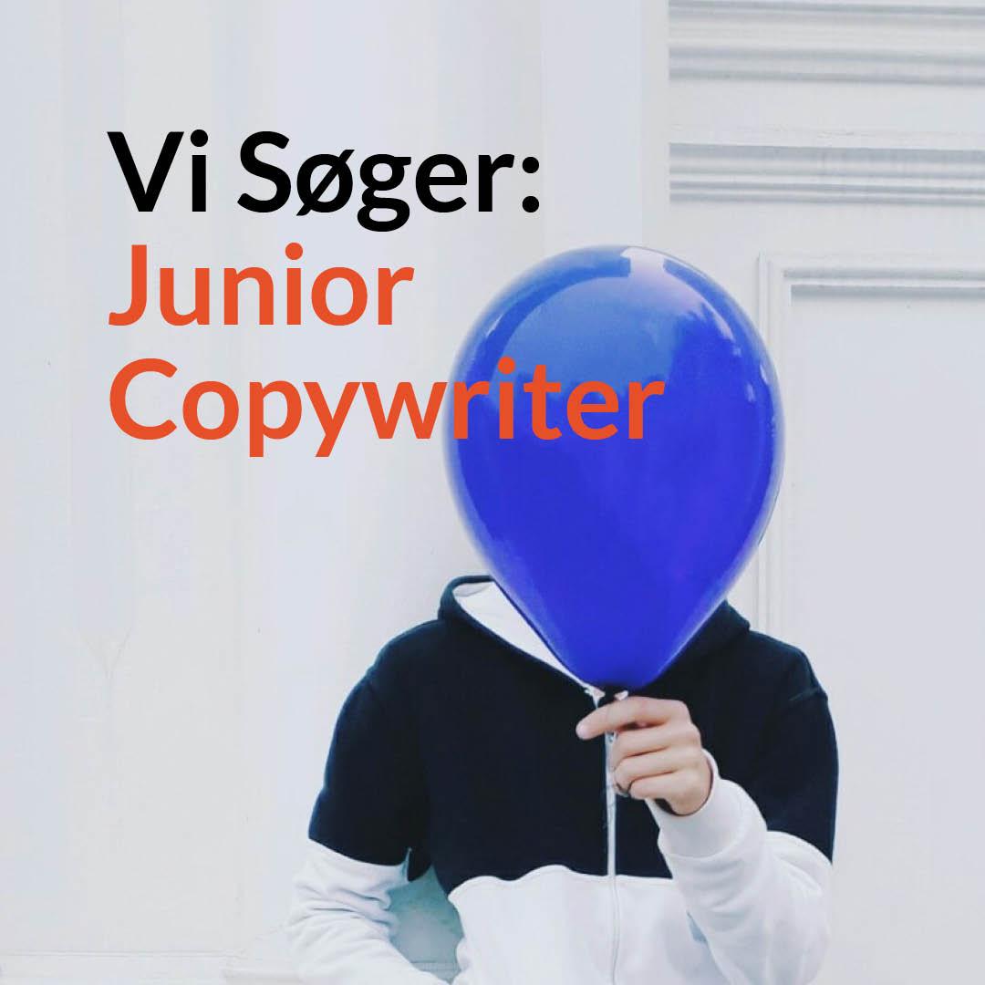 vi søger junior copywriter shark og co